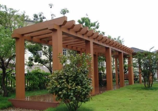 gazebo jardim madeira:Wood Pallet Pergola